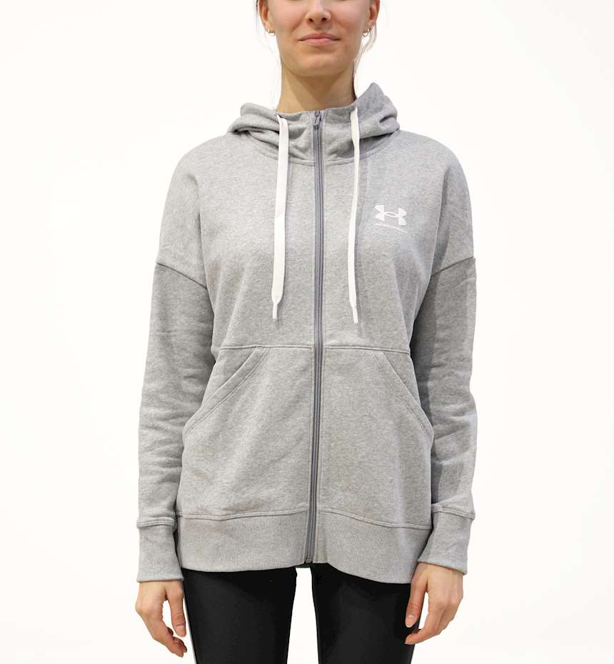 GIUBBINO UNDER ARMOUR RIVAL FLEECE FZ HOODIE