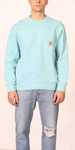 FELPA CARHARTT POCKET SWEATSHIRT