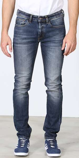 JEANS UNIFORM IBANEZ BLU DENIM SLIM