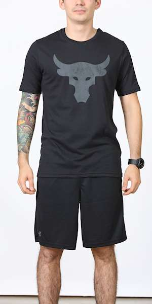 T-SHIRT UNDER ARMOUR PROJECT ROCK BRAHMA BULL SS