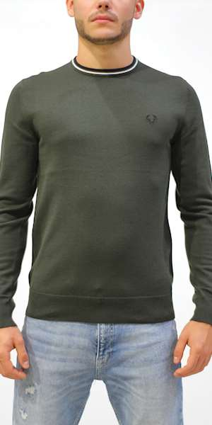 MAGLIONE FREDPERRY FP CLASSIC CREW NECK JUMPER