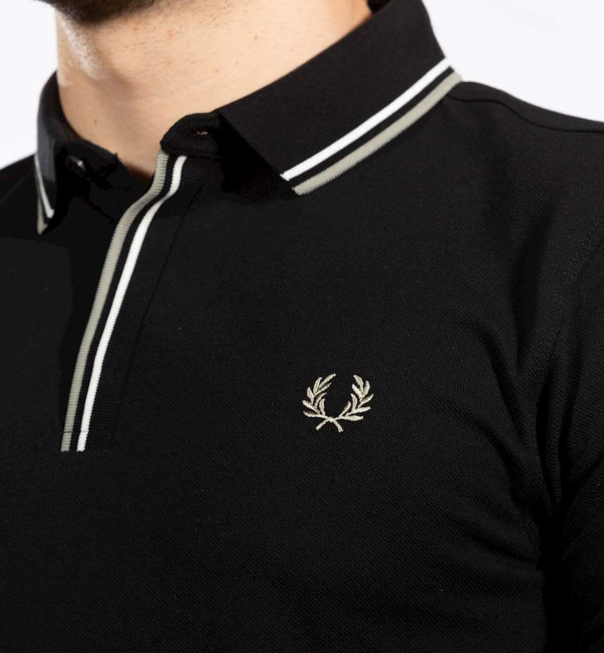 POLO FRED PERRY TIPPED PLACKET