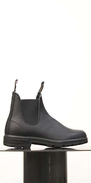 STIVALE BLUNDSTONE BLACK LEATHER ELASTIC