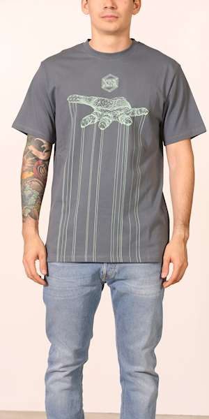 T-SHIRT DOLLY NOIRE  CONTROL STORM GREY