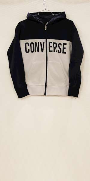 FELPA CONVERSE COLOURBLOCK FULL ZIP