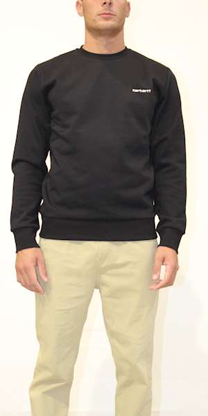 FELPA CARHARTT SCRIPT EMBROIDERY SWEAT