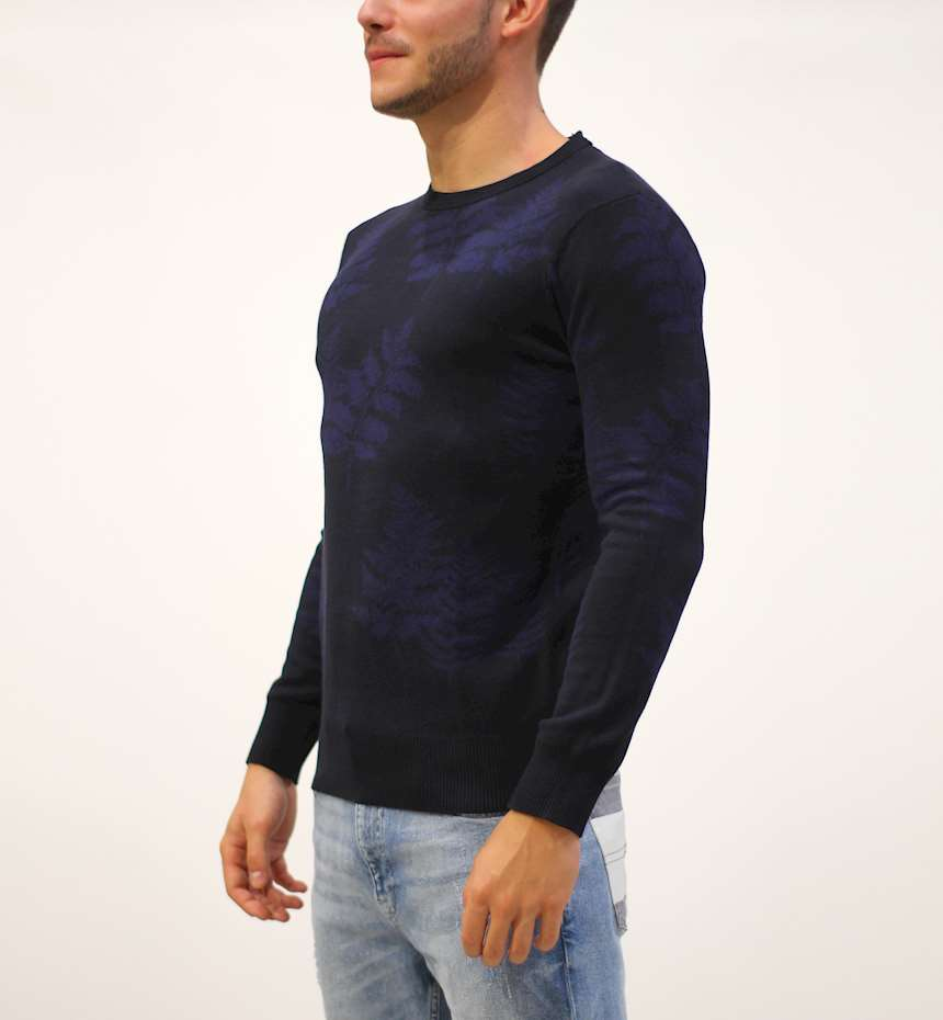 MAGLIONE SCOTCH&SODA CLASSIC ALL-OVER