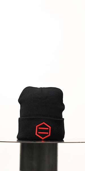 CUFFIA DOLLY NOIRE BLCK & RED
