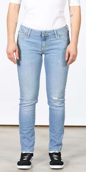 JEANS ROY ROGERS CATE CUT DENIM SUPER STRECH