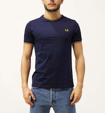 T-SHIRT FREDPERRY FP TWIN TIPPED T-SHIRT