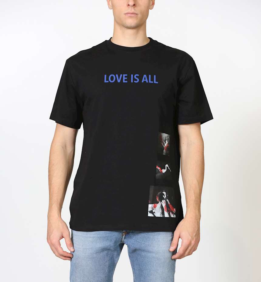"""T-SHIRT I'M BRIAN STAMPA """"LOVE IS ALL"""""""