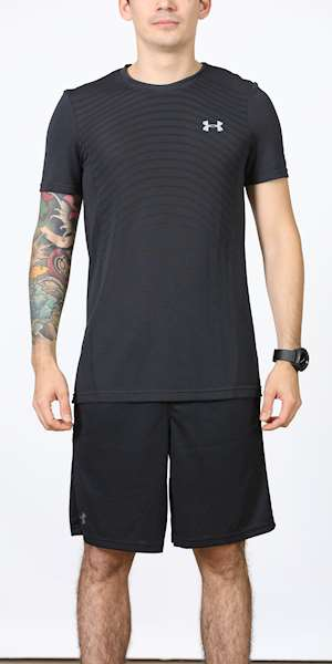 T-SHIRT UNDER ARMOUR SEAMLESS WAVE SS