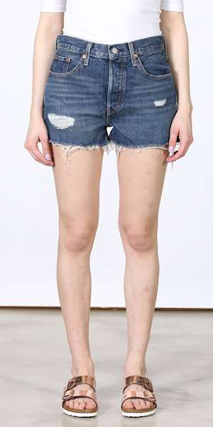 SHORTS LEVIS 501 HIGH RISE
