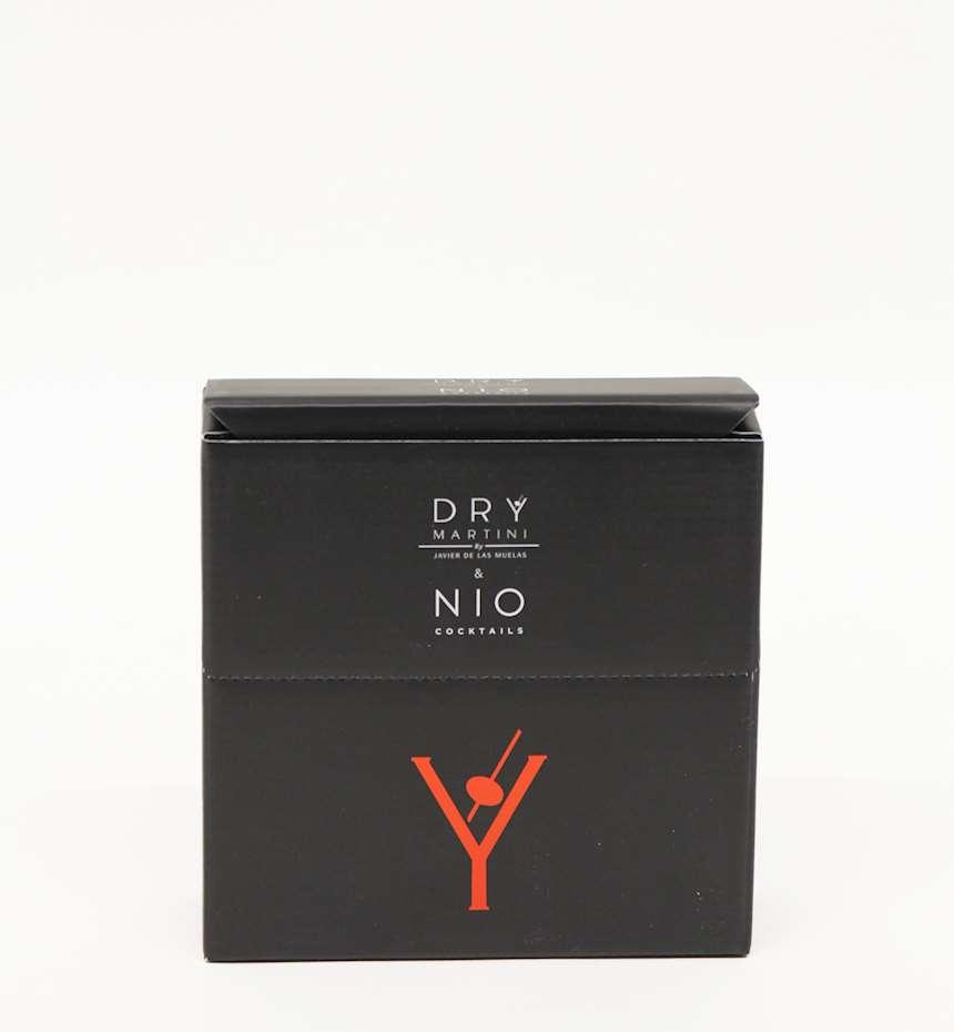 NIOCOCKTAILS BOX DRY MARTINI BLACK