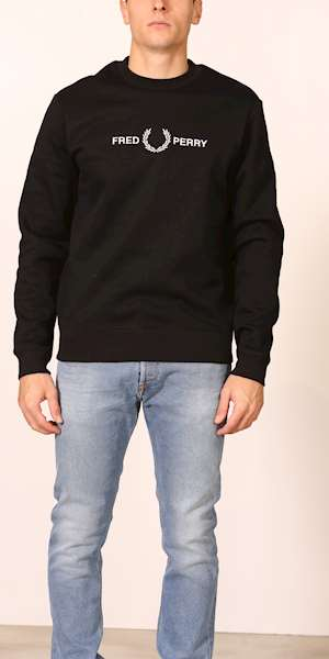 FELPA FRED PERRY GRAPHIC SWEATSHIRT