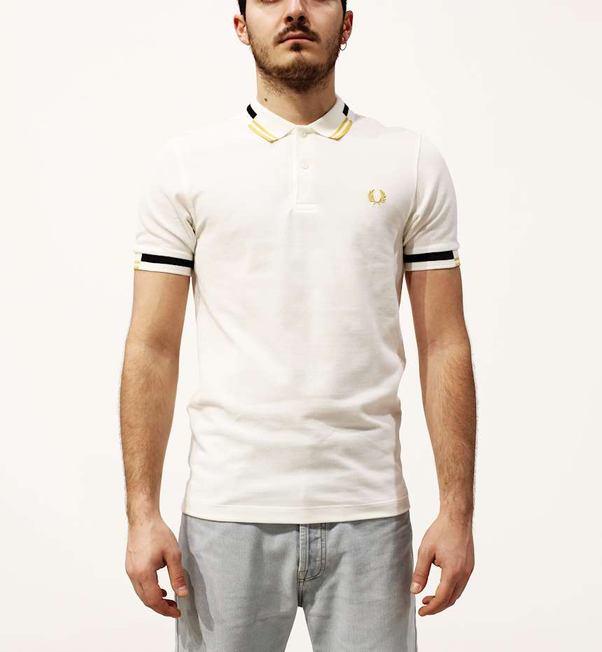 POLO FREDPERRY FP ABSTRACT TIPPED