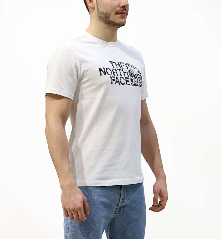 T-SHIRT THE NORTH FACE WOODCUT