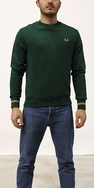 FELPA FREDPERRY CREW NECK SWEATSHIRT