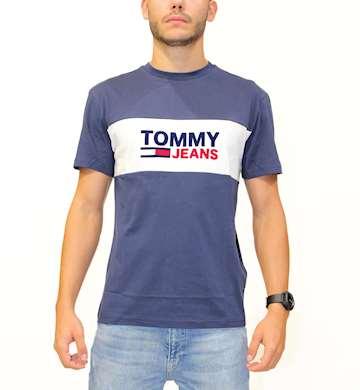 T-SHIRT TOMMYHILFIGER TJM PIECED BAND LOGO TEE