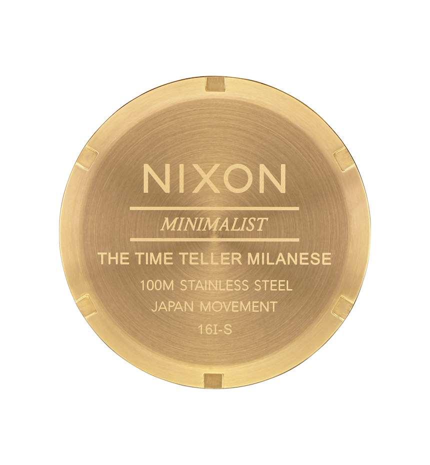NIXON TIME TELLER MILANESE