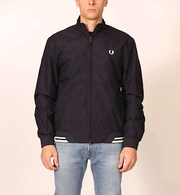 GIUBBINO FREDPERRY FP TWIN TIPPED SPORTS JACKET