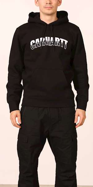 FELPA CARHARTT HOODED DISTRICT SWEATSHIRT