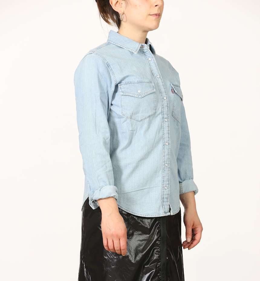CAMICIA IN JEANS LEVIS ESSENTIAL WESTERN