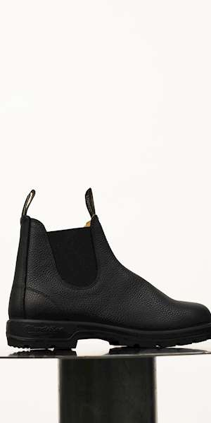 STIVALE BLUNDSTONE BLACK PEBBLE