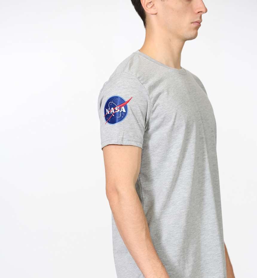 T-SHIRT ALPHA INDUSTRIES NASA T