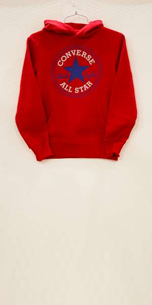 FELPA CONVERSE FLEECE CHUCK PATCH HOODIE