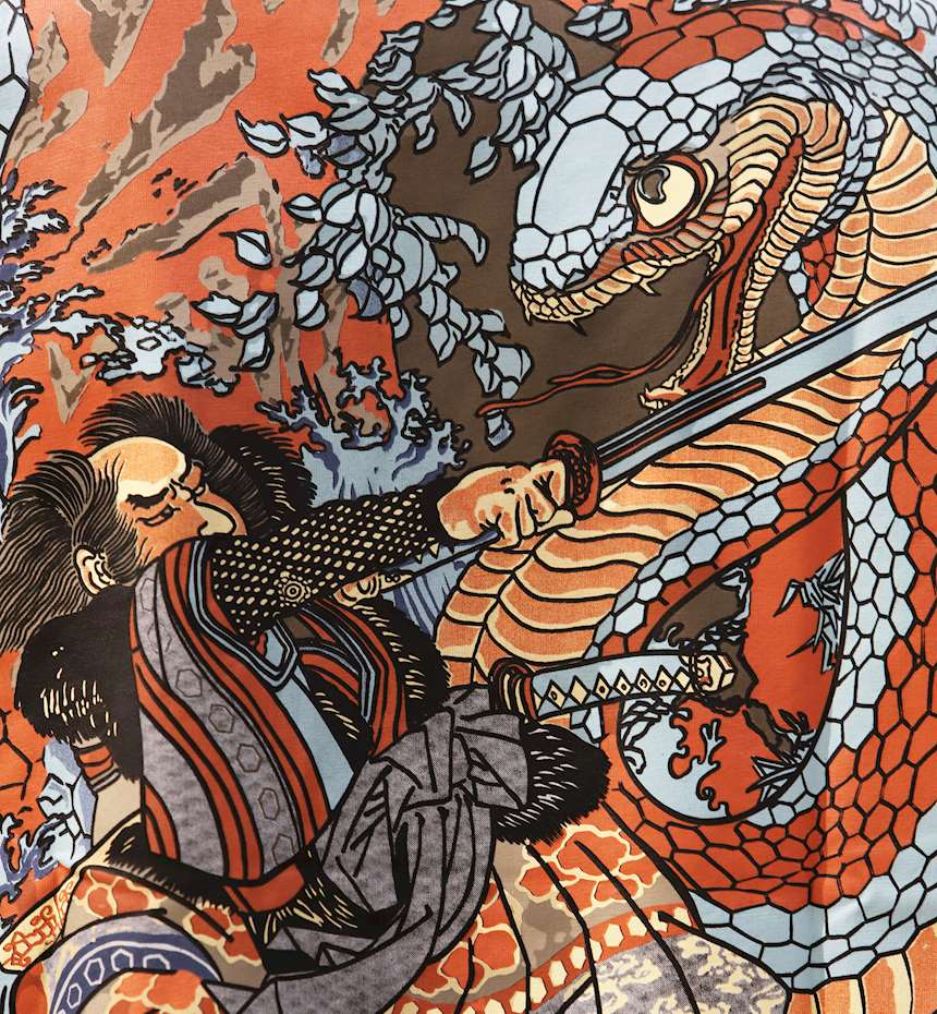 T-SHIRT DOLLY NOIRE  KUNIYOSHI OVERSIZE
