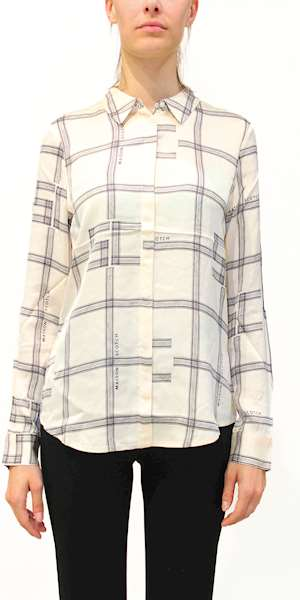 CAMICIA SCOTCH&SODA REGULAR DRAPEY SHIRT IN SEASONAL PATTERN