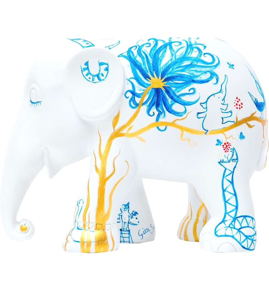ELEPHANT PARADE IN PARADISE 15 CM