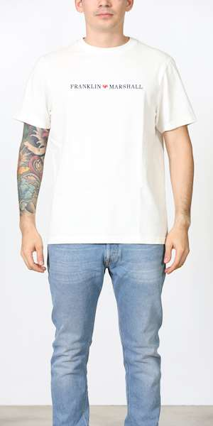 T-SHIRT FRANKLIN & MARSHALL  JERSEY ROUND NECK