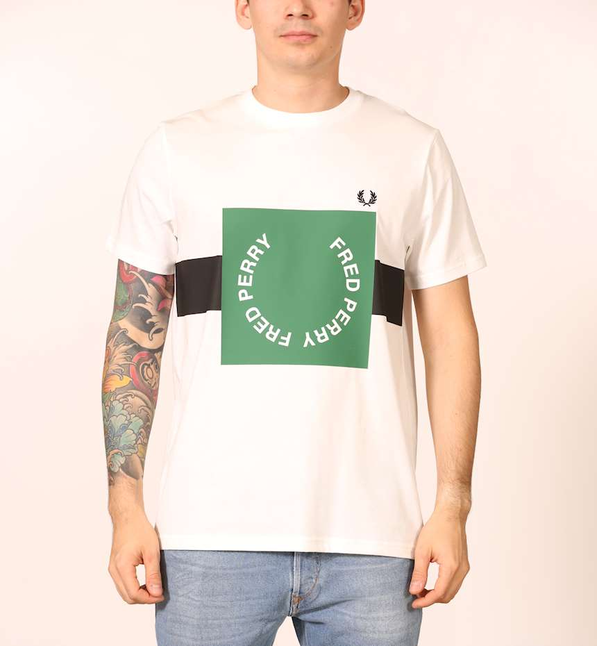 T-SHIRT FREDPERRY FP BOLD GRAPHIC