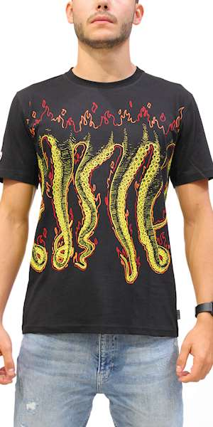 T-SHIRT OCTOPUS MORE FIRE TEE