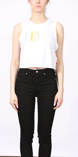 TOP LEVIS GRAPHIC CROP TANK