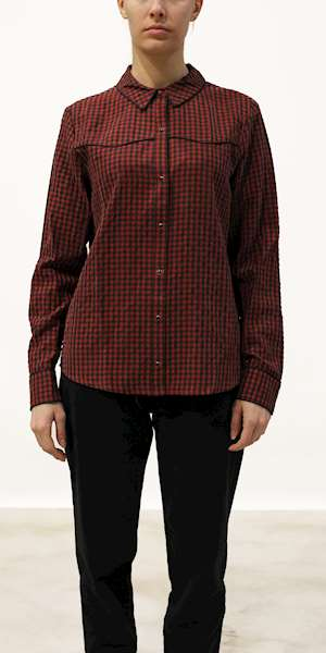 CAMICIA SCOTCH&SODA CHECKED SHIRT DRESS