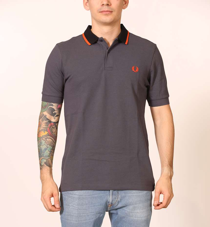 POLO FRED PERRY CONTRAST TIPPED