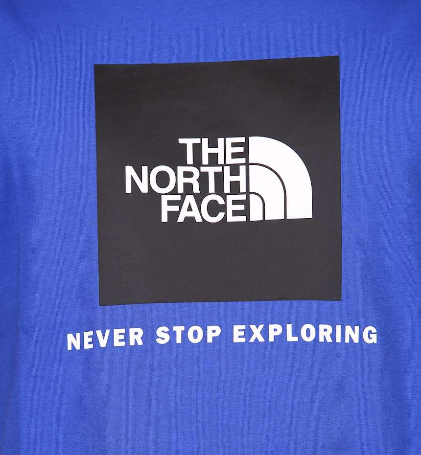 T-SHIRT THE NORTH FACE M S/S RAGLAN REDBOX