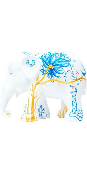 ELEPHANT PARADE IN PARADISE 10 CM