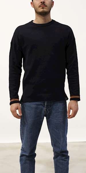 SCOTCH&SODA REVERSIBLE CREWNECK PULL