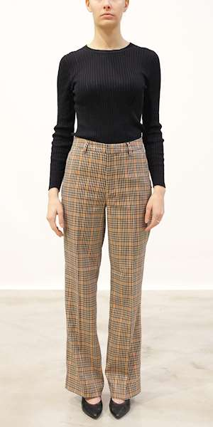 PANTALONI SCOTCH&SODA 'EDIE' TAILORED WIDE LEG CLASSIC PANTS