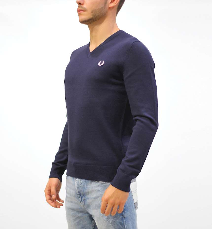 MAGLIONE FREDPERRY FP CLASSIC V NECK JUMPER