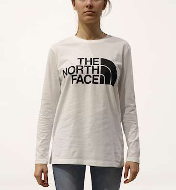 T-SHIRT THE NORTH FACE W STANDARD LS TEE