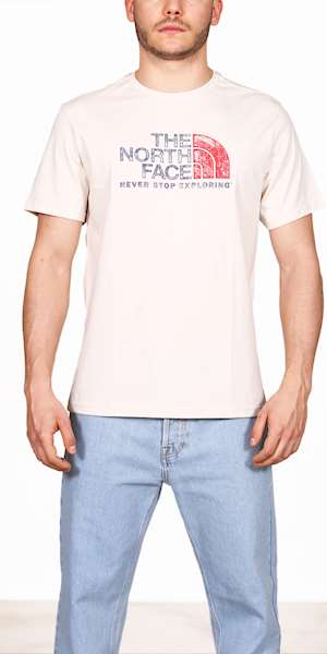 T-SHIRT THE NORTH FACE M S/S RUST 2