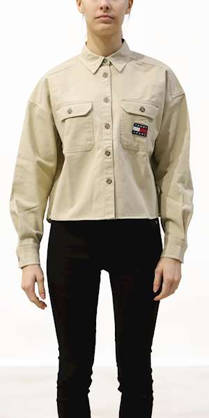 CAMICIA TOMMY HILFIGER CROPPED