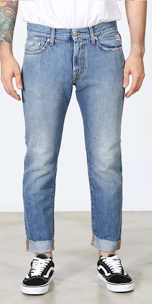 JEANS ROY ROGERS CULT EDGE MAN DENIM ANGEL FACE