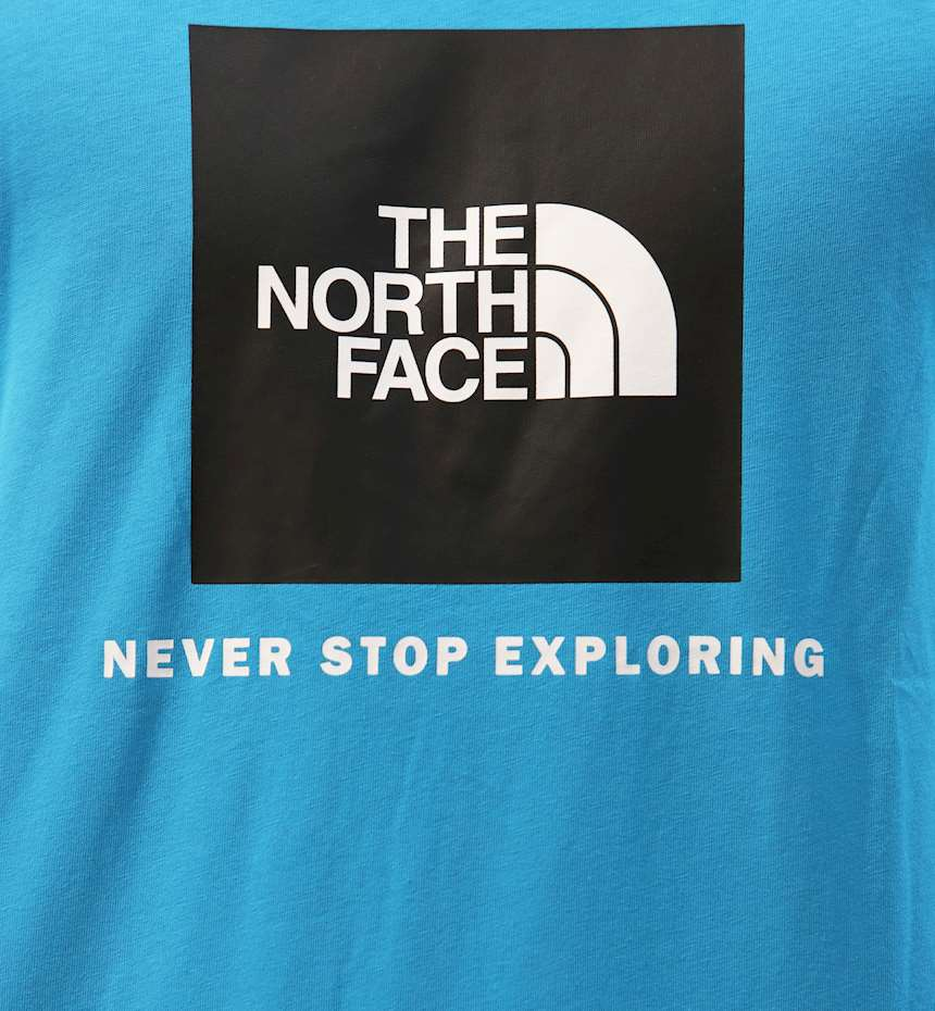 T-SHIRT THE NORTH FACE RAGLAN REDBOX