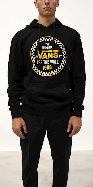 FELPA VANS MN CHECKER 66 PO